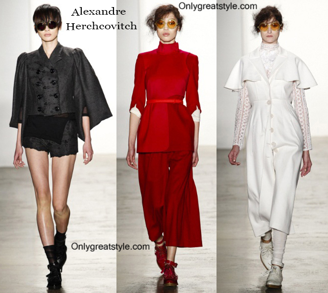 Clothing accessories Alexandre Herchcovitch 2014 2015