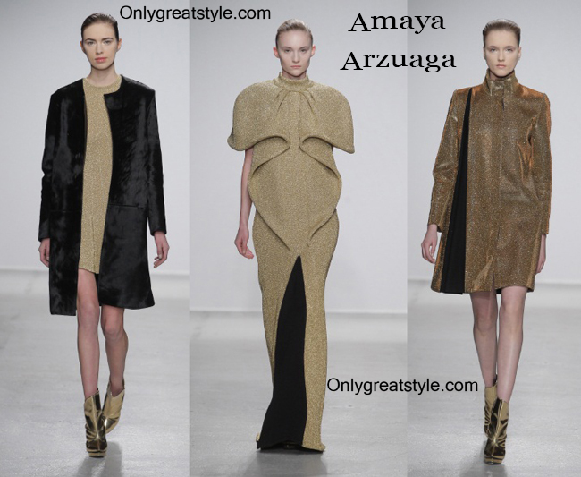 Clothing accessories Amaya Arzuaga fall winter 2014 2015