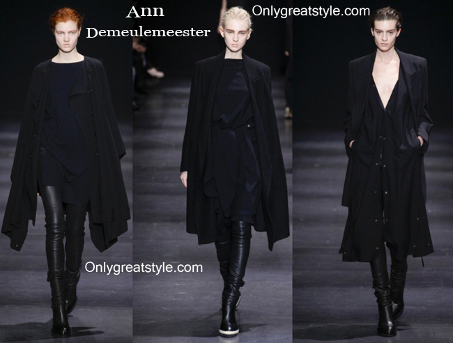 Clothing accessories Ann Demeulemeester fall winter 2014 2015