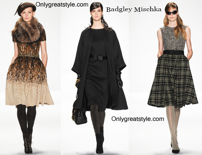 Clothing accessories Badgley Mischka fall winter 2014 2015