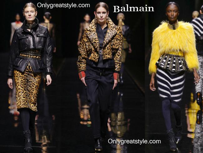 Clothing accessories Balmain fall winter 2014 2015