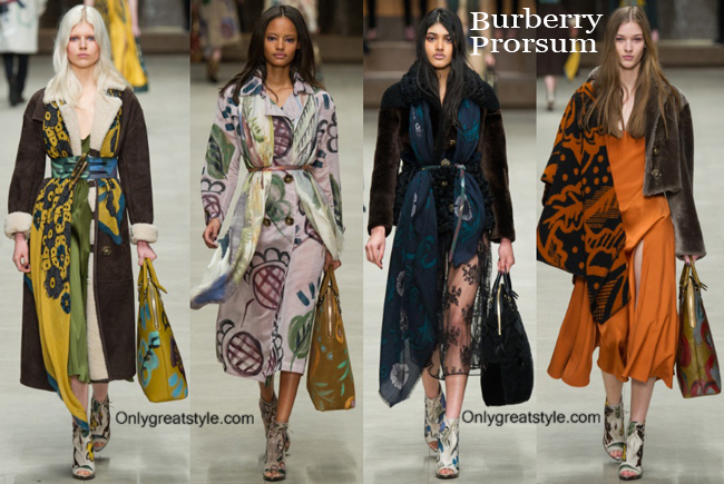 Clothing accessories Burberry fall winter 2014 2015