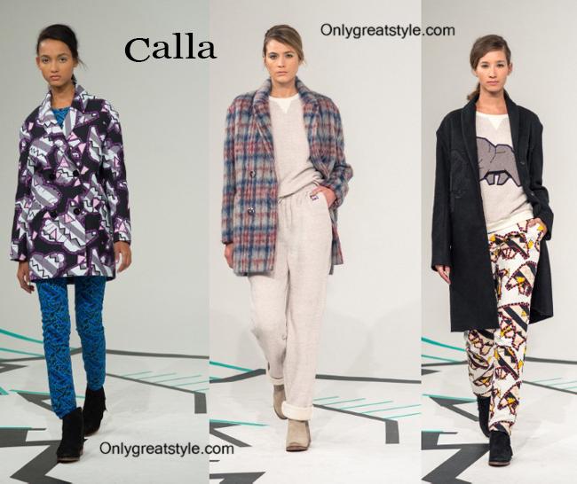 Clothing accessories Calla fall winter 2014 2015