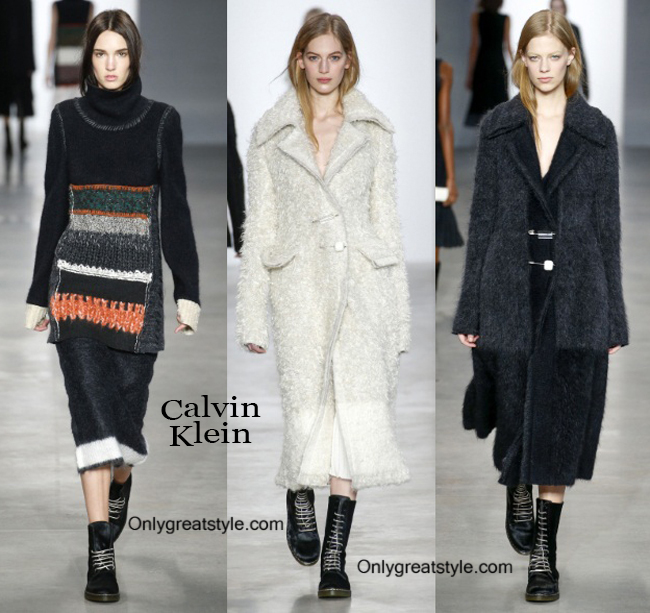 Clothing accessories Calvin Klein fall winter 2014 2015