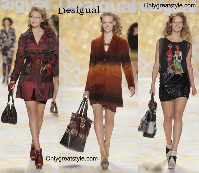 Clothing accessories Desigual fall winter 2014 2015