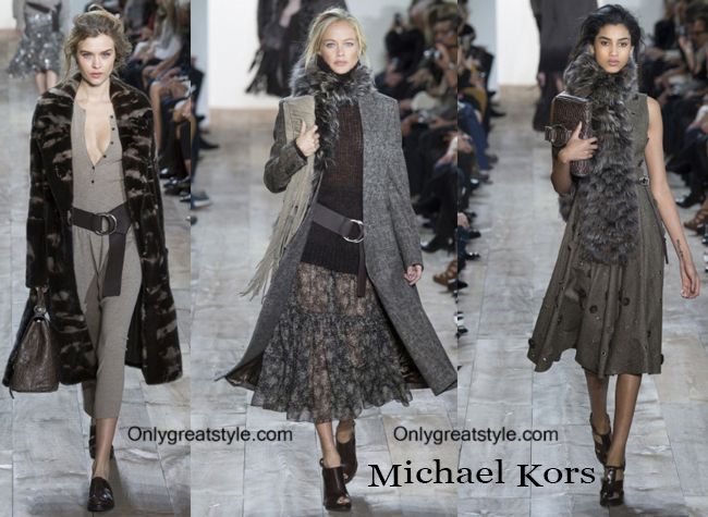 Clothing accessories Michael Kors fall winter 2014 2015