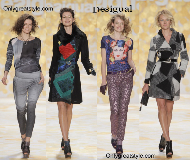 Fashion-show-Desigual-fall-winter-2014-2015-womenswear