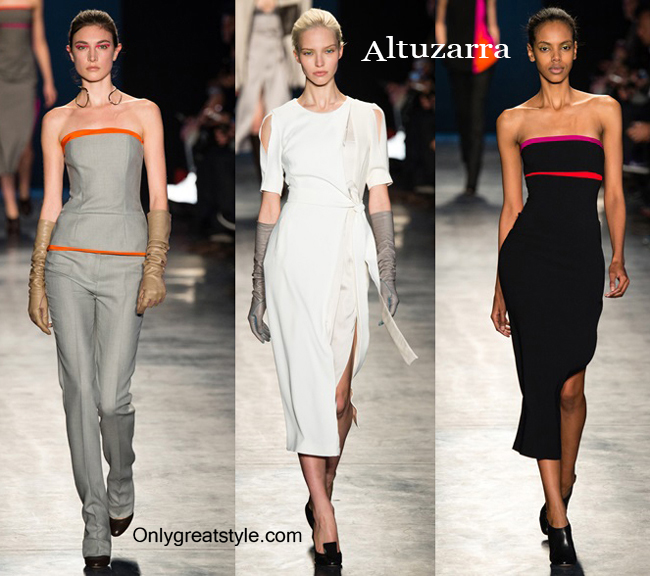 Fashion show dresses Altuzarra fall winter 2014 2015