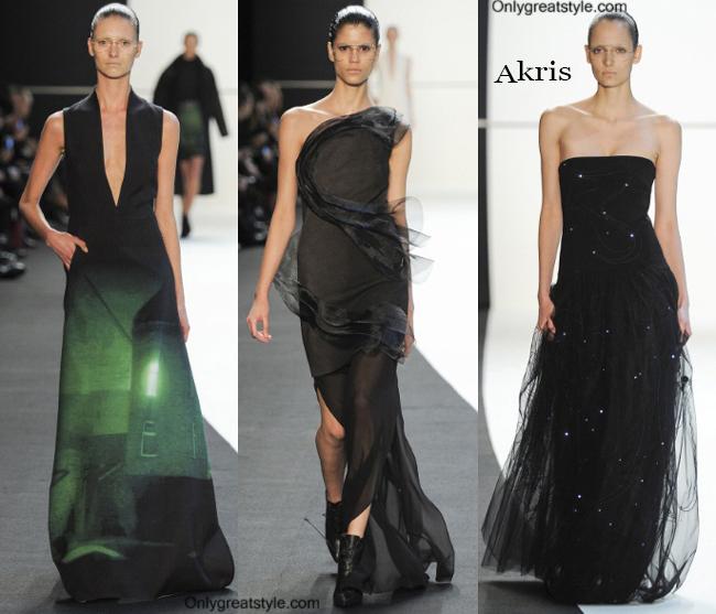 Fashion trends Akris 2014 2015 womenswear