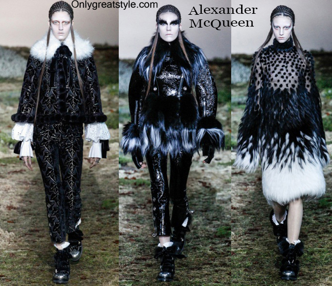 Fashion trends Alexander McQueen womenswear