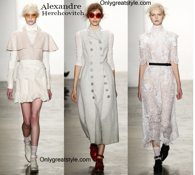 Fashion trends Alexandre Herchcovitch womenswear