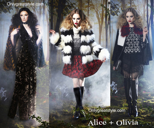 Fashion trends Alice Olivia 2014 2015 womenswear