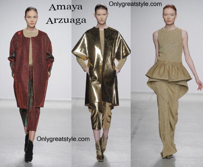 Fashion trends Amaya Arzuaga 2014 2015 womenswear