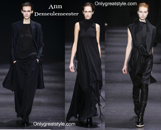 Fashion trends Ann Demeulemeester 2014 2015 womenswear
