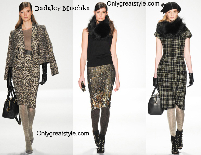 Fashion trends Badgley Mischka 2014 2015 womenswear