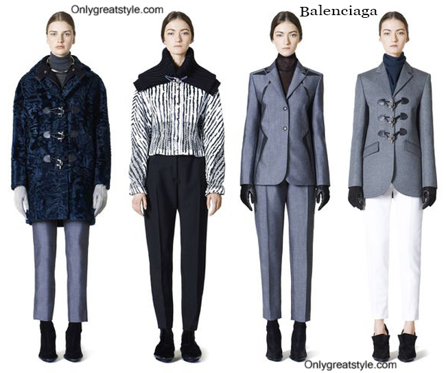 Fashion trends Balenciaga 2014 2015 womenswear