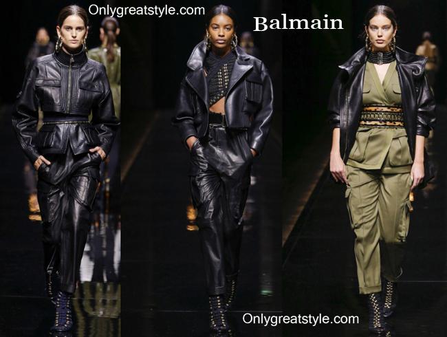 Fashion trends Balmain 2014 2015 womenswear
