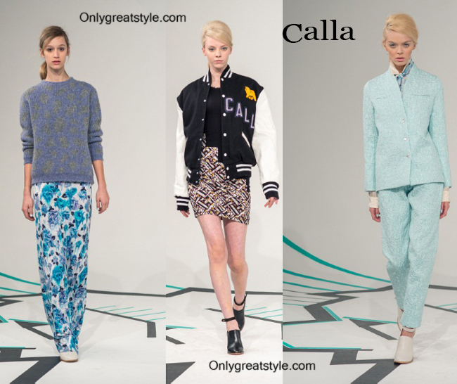 Fashion trends Calla 2014 2015 womenswear