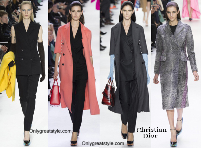 Fashion trends Christian Dior 2014 2015 womenswear