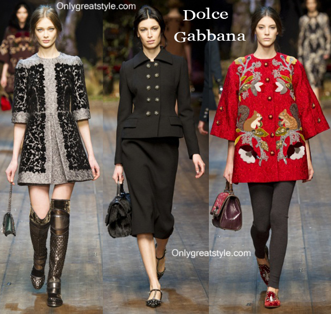 Fashion trends Dolce Gabbana 2014 2015 womenswear