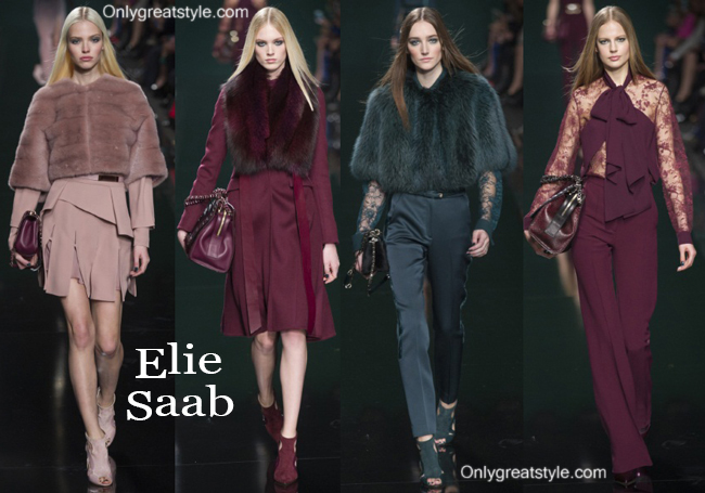 Fashion trends Elie Saab 2014 2015 womenswear