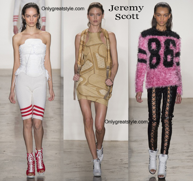 Fashion trends Jeremy Scott 2014 2015 womenswear