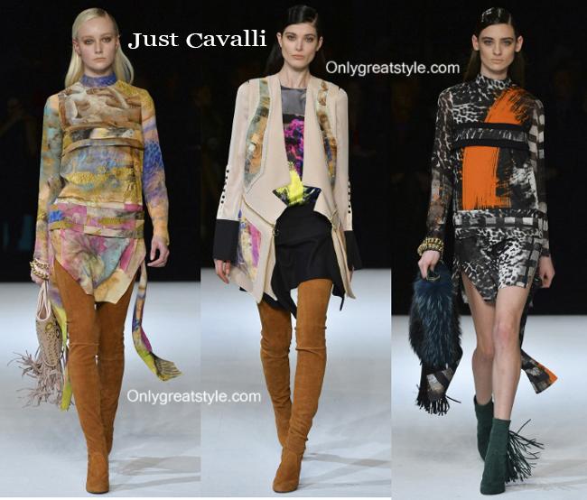 Fashion trends Just Cavalli 2014 2015 womenswear