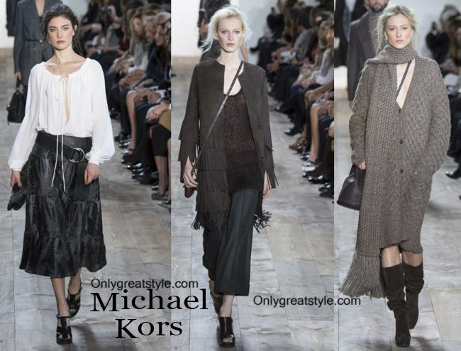 Fashion trends Michael Kors 2014 2015 womenswear