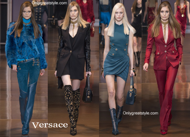 Fashion trends Versace 2014 2015 womenswear