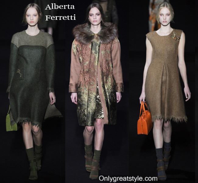 Alberta Ferretti clothing accessories fall winter 2014 2015