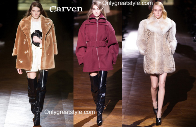 Carven clothing accessories fall winter 2014 2015