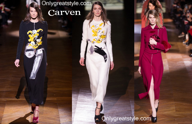 Carven fashion clothing fall winter 2014 2015