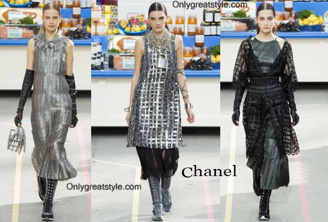 Chanel fashion clothing fall winter 2014 2015