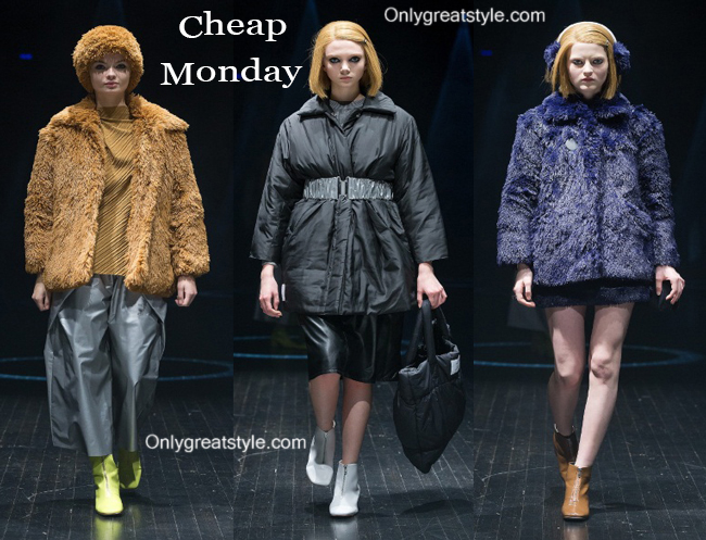 Cheap Monday clothing accessories fall winter 2014 2015