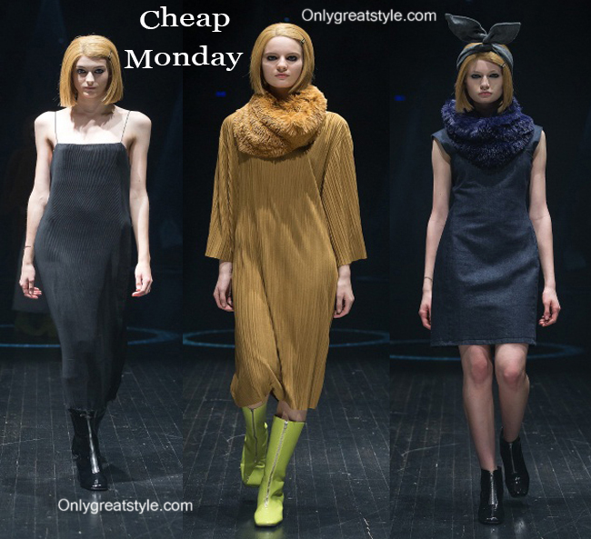 Cheap Monday fashion clothing fall winter 2014 2015