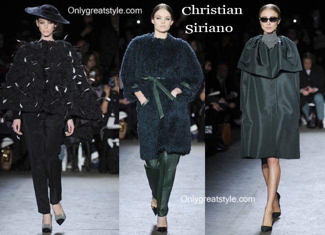 Christian Siriano clothing accessories fall winter 2014 2015