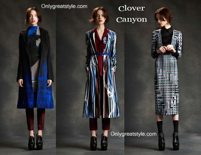 Clover Canyon clothing accessories fall winter 2014 2015