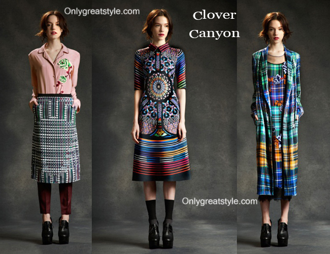 Clover Canyon fashion clothing fall winter 2014 2015