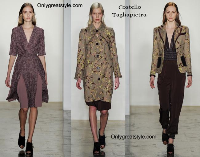 Costello Tagliapietra clothing accessories fall winter