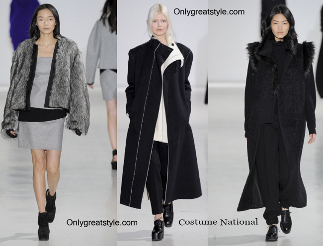 Costume National clothing accessories fall winter