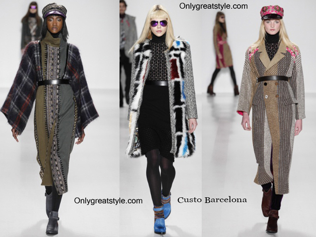 Custo Barcelona clothing accessories fall winter