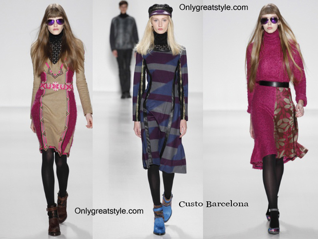 Custo Barcelona fashion clothing fall winter