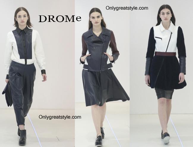 DROMe fashion clothing fall winter