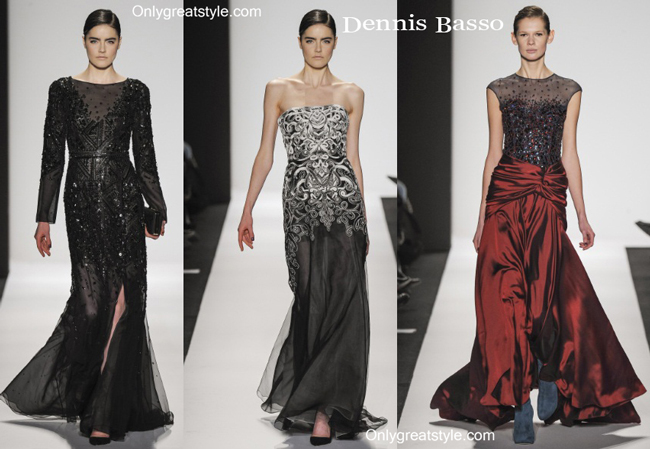 Dennis Basso fashion clothing fall winter