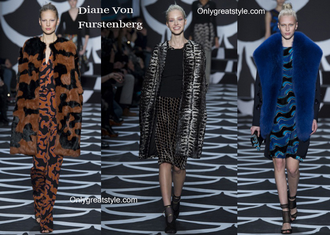 Diane Von Furstenberg clothing accessories fall winter