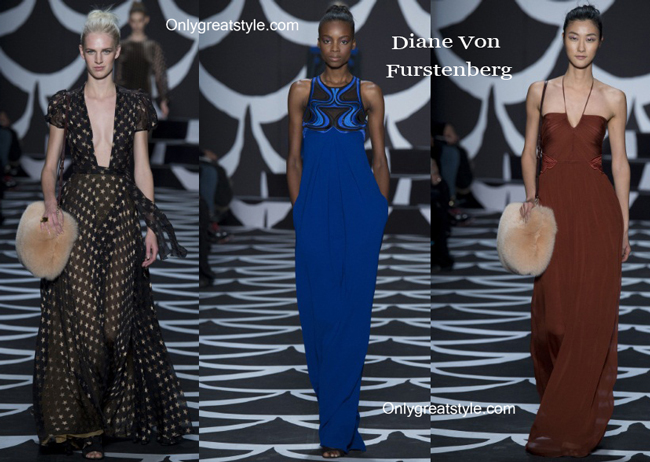 Diane Von Furstenberg fashion clothing fall winter