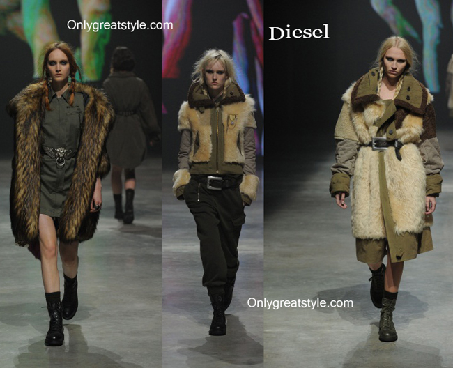 Diesel clothing accessories fall winter
