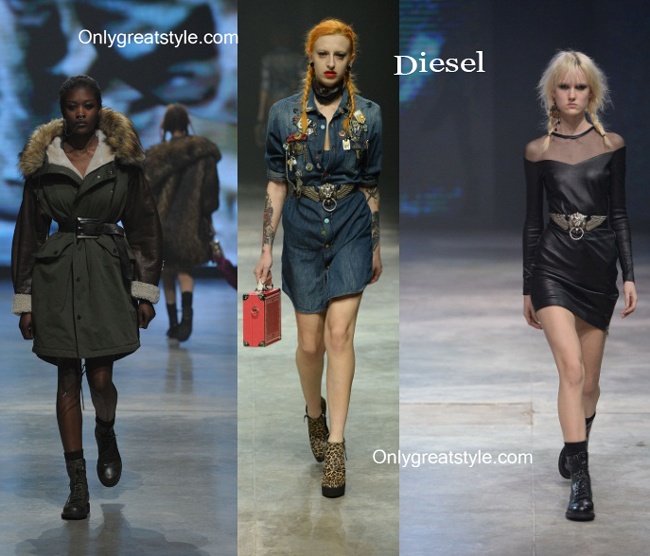 Diesel fashion clothing fall winter