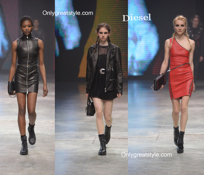 Diesel handbags and Diesel shoes