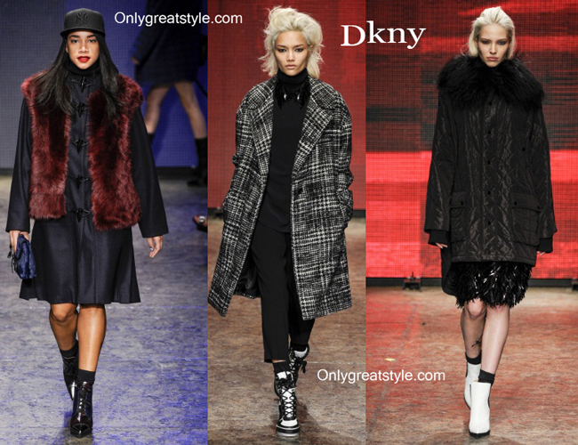 Dkny clothing accessories fall winter